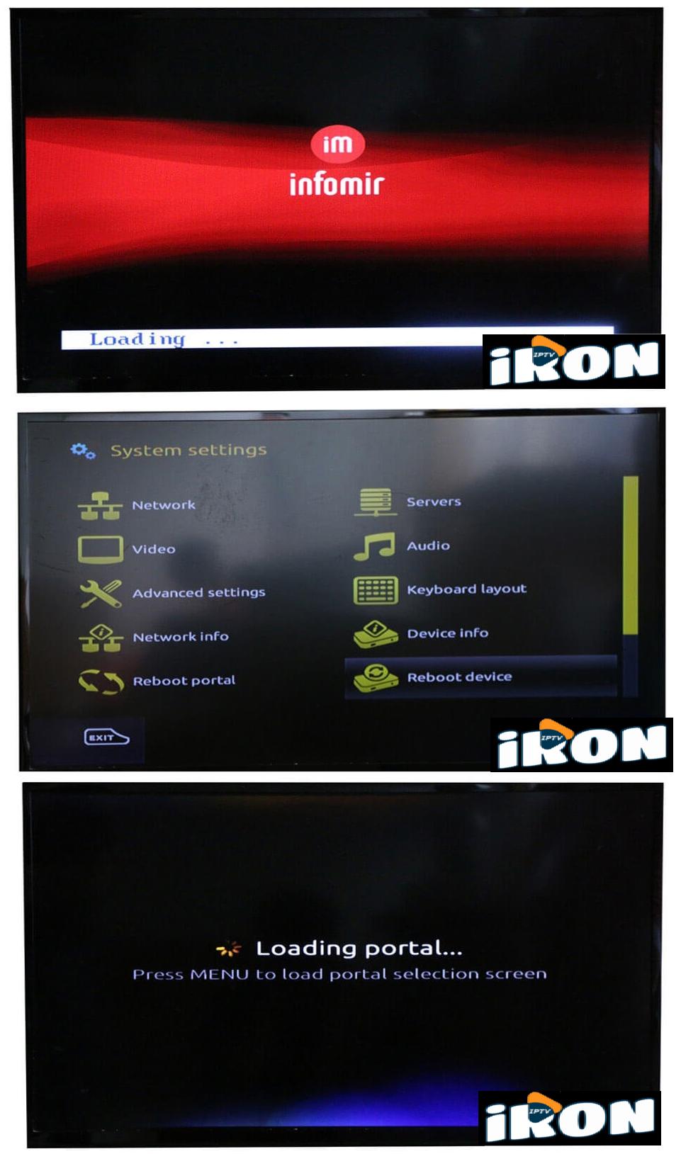IRON IPTV   Help and tutorial